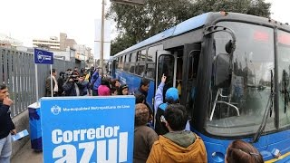 Municipalidad de Lima dio detalles del Corredor Javier Prado La Marina