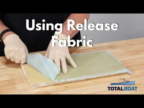 Using Release Fabric with Epoxy Resin