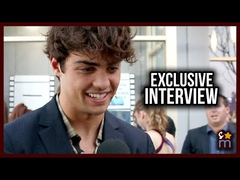 Noah Centineo Talks Kissing Scene & Love at To All The Boys I've Loved Before Premiere