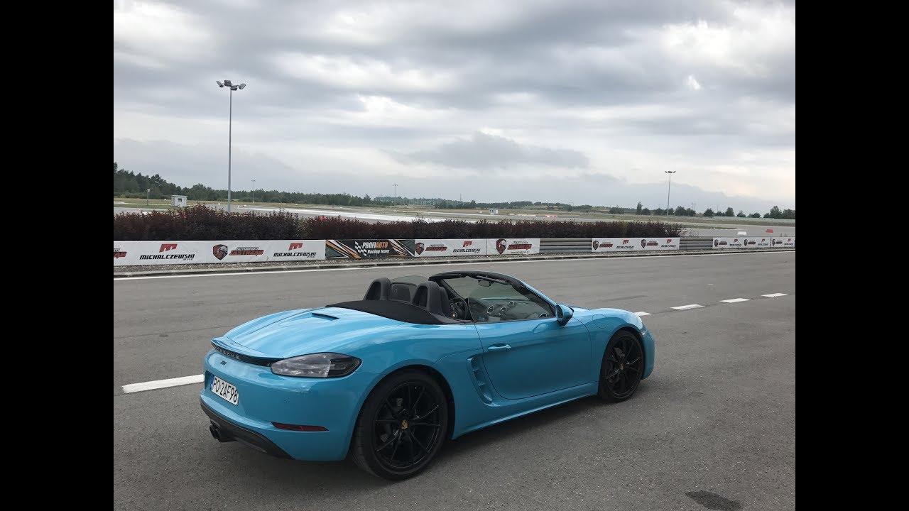 Porsche 718 Boxster TEST PL Pertyn ględzi