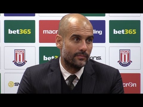 Stoke 1-4 Manchester City - Pep Guardiola Full Post Match Press Conference