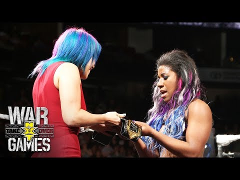 Asuka crowns Ember Moon the new NXT Women's Champion: NXT TakeOver: WarGames