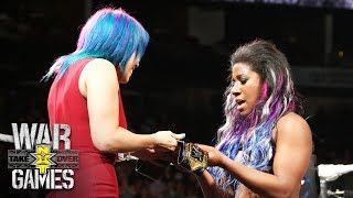 Asuka crowns Ember Moon the new NXT Women