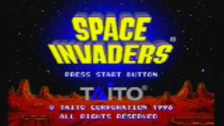 Space Invaders - Sega Saturn