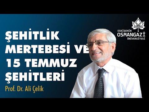 """ESOGÜ GÜNDEM / """"Şehitlik Mertebesi Ve 15 Temmuz Şehitleri""""- Prof. Dr. Ali Çelik"""