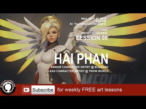 Overwatch Artist interview Session 08: Hai Phan - Senior character artist at Blizzard Entertainment