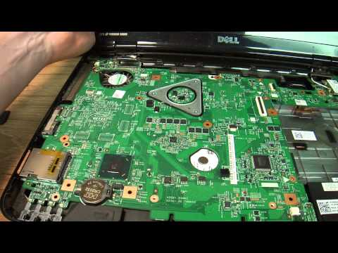 How To Disassemble Dell Inspiron N5110 Complete Disassembly And Hard Drive Removal MAH02576