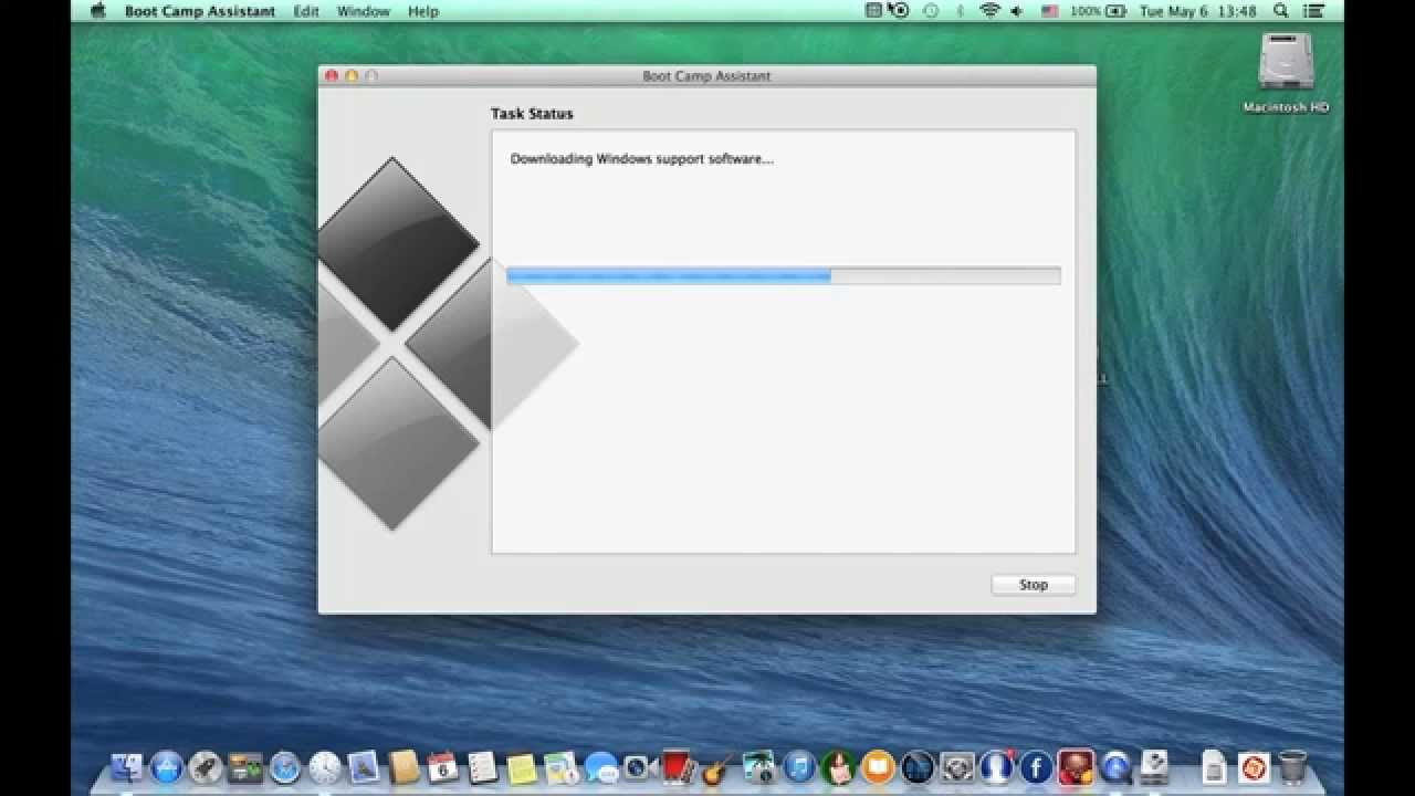 boot mac from usb windows 7