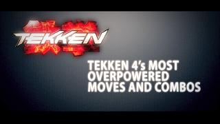 TEKKEN 4 | Overpowered Moves & Combos thumbnail