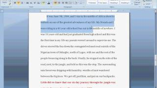 How to write a preface for a dissertation