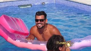 Bora Santana i Marijana Zonjic na bazenu