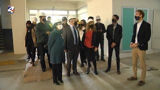 Autoridades recorrieron las obras del nuevo local de la Universidad Tecnológica en Paysandú
