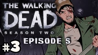 ON THIN ICE - The Walking Dead Season 2 Episode 5 No Going Back Walkthrough Ep.3