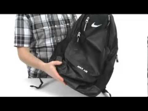 d6892fe6a8d8 Nike Team Training Max Air XL Backpack SKU  7969596 - YouTube