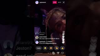 Lancey Foux & Jay Trench IG Live unreleased snippets 2020