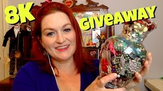 8K Subscriber Celebration & Jewelry Jar Giveaway
