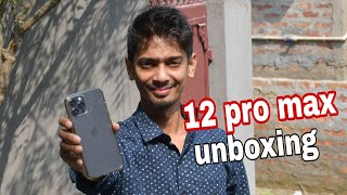 Unboxing iPhone 12 pro Max - Dimpu Baruah