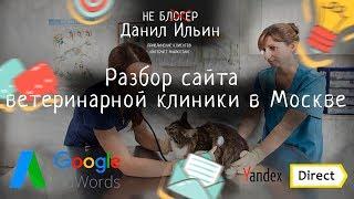 Смотреть видео Разбор сайта - ветеринарной клиники в Москве онлайн
