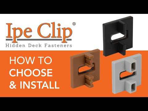 hidden deck fasteners | DIY Home Center Blog