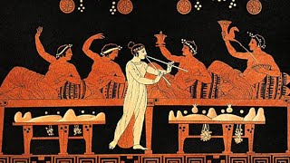 Ancient Greece images, with ancient music.