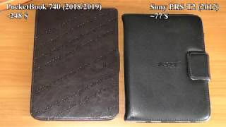 pocketBook 740 (2018) vs Sony PRS-T2 (2012) / PocketBook 740 против Sony PRS-T2