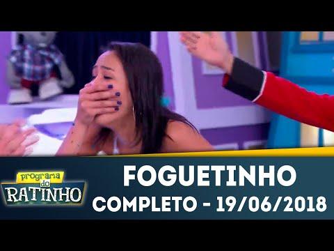 Foguetinho - Completo | Programa Do Ratinho (19/06/2018)