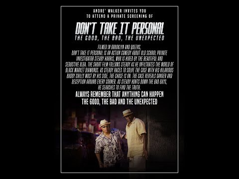 Dont Take It Personal Full Movie