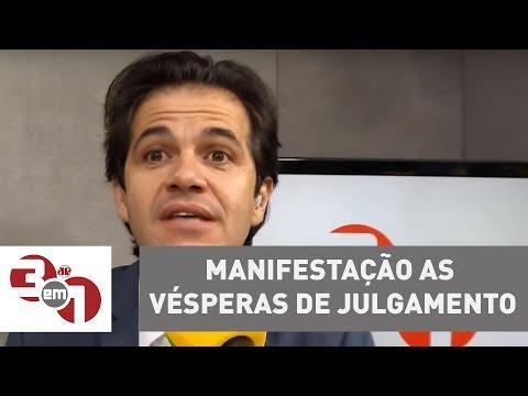 Grupos Pró E Contra Lula Se Manifestam às Vésperas Do Julgamento