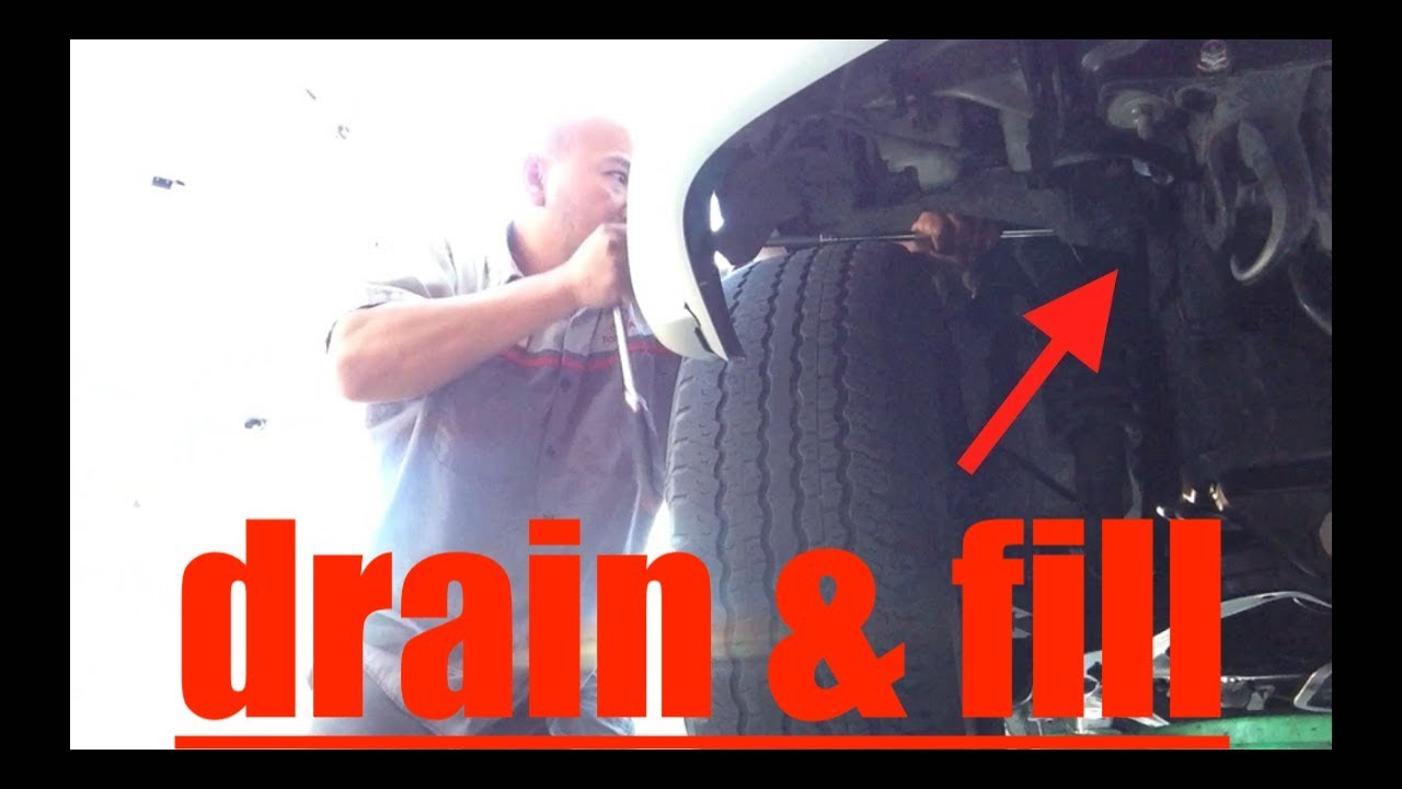 SIMPLE Coolant Drain Fill Radiator Engine Block Toyota 4Runner √ Fix it  Angel