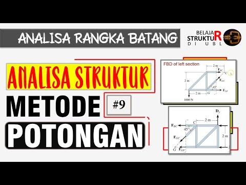 metode-potongan-untuk-menganalisa-rangka-batang