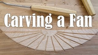 Carving A Concave Fan