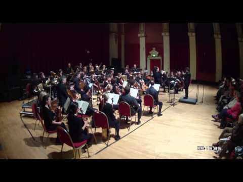 Sinfonia Tamesa and Daniel Pailthorpe perform Matthew Taylor's flute concerto
