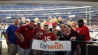 Fanwish - (Extended version)  Alabama vs Wisconsin season opener at AT&T stadium