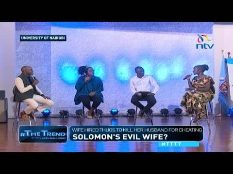 #TTTT: Solomon's evil wife? Wife hired thugs to kill her husband for cheating