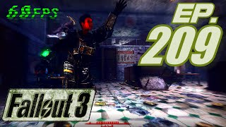 Fallout 3 Gameplay in 60fps, Part 209: Into Arlington Library with the Sergeant (Let