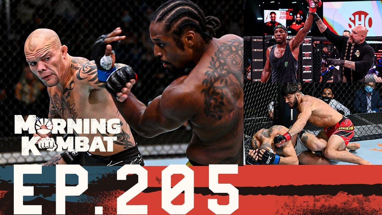 Download Bellator 266 & UFC: Smith vs. Spann Recaps   Joshua-Usyk   UFC 266   Morning Kombat EP 205