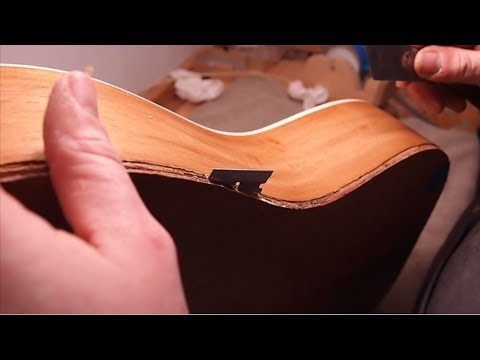 Guitar Repair - You Won't Believe What I Found Inside...