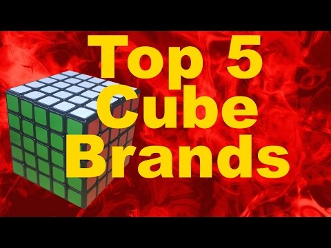 My Top 5 Favorite Rubik's Cube Brands