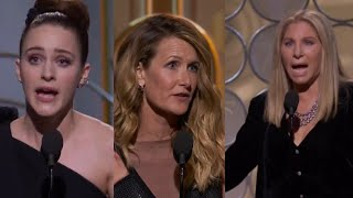 Golden Globes 2018: Powerful speeches empowering women from Barbra Streisand and more