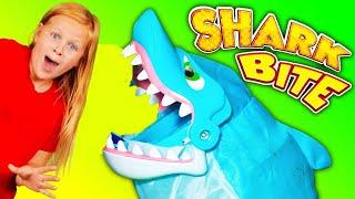 SHARK BITE Disney Vampirina and PJ Masks Play a Game and Burger Mania