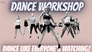 DANCE WORKSHOP    Jazz     Heels    Tap    Lyrical    Musical Theatre    Commercial   