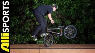 How To Footjam Tailwhip, Mike Spinner, Alli Sports BMX Step By Step Trick Tips