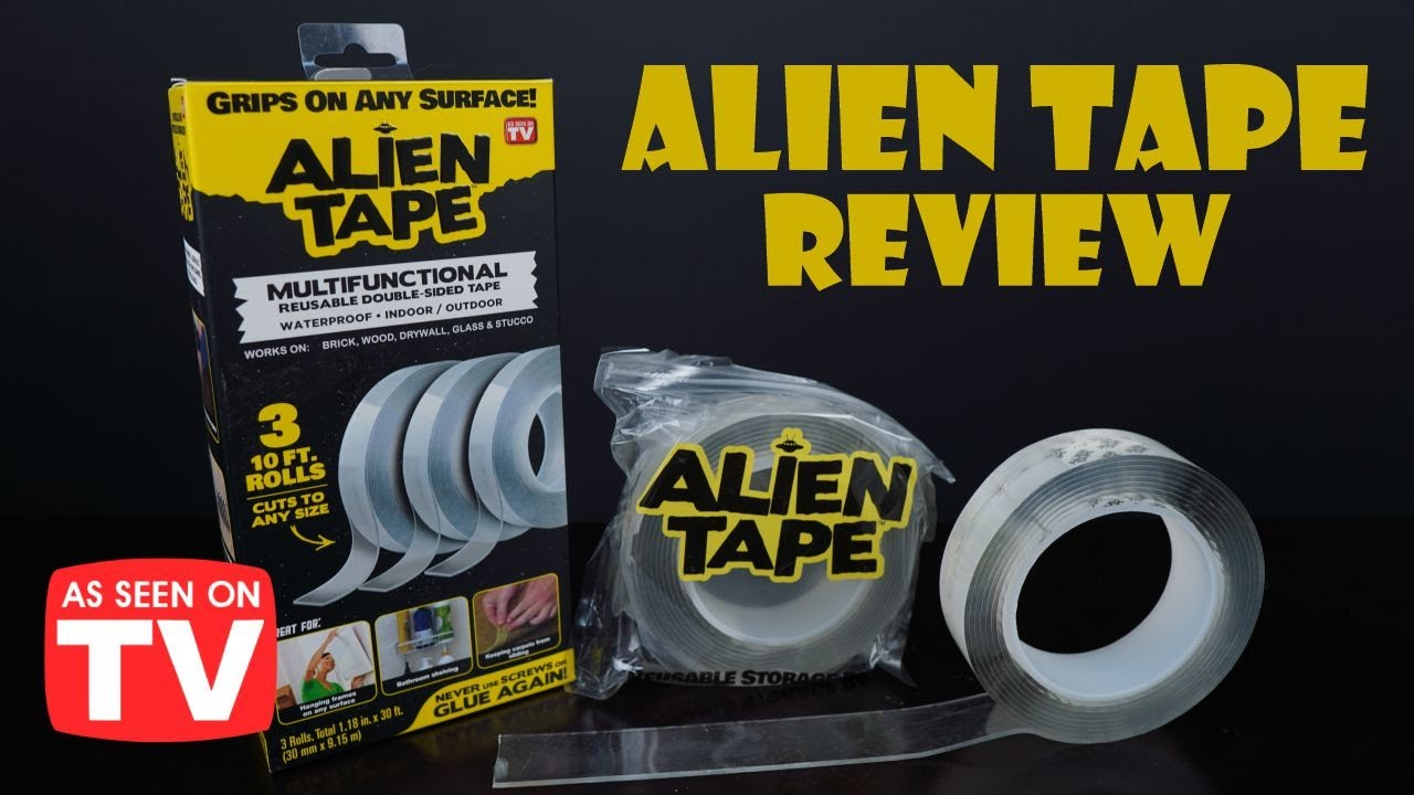 Alien Tape Review: Does This As Seen on TV Tape Work?