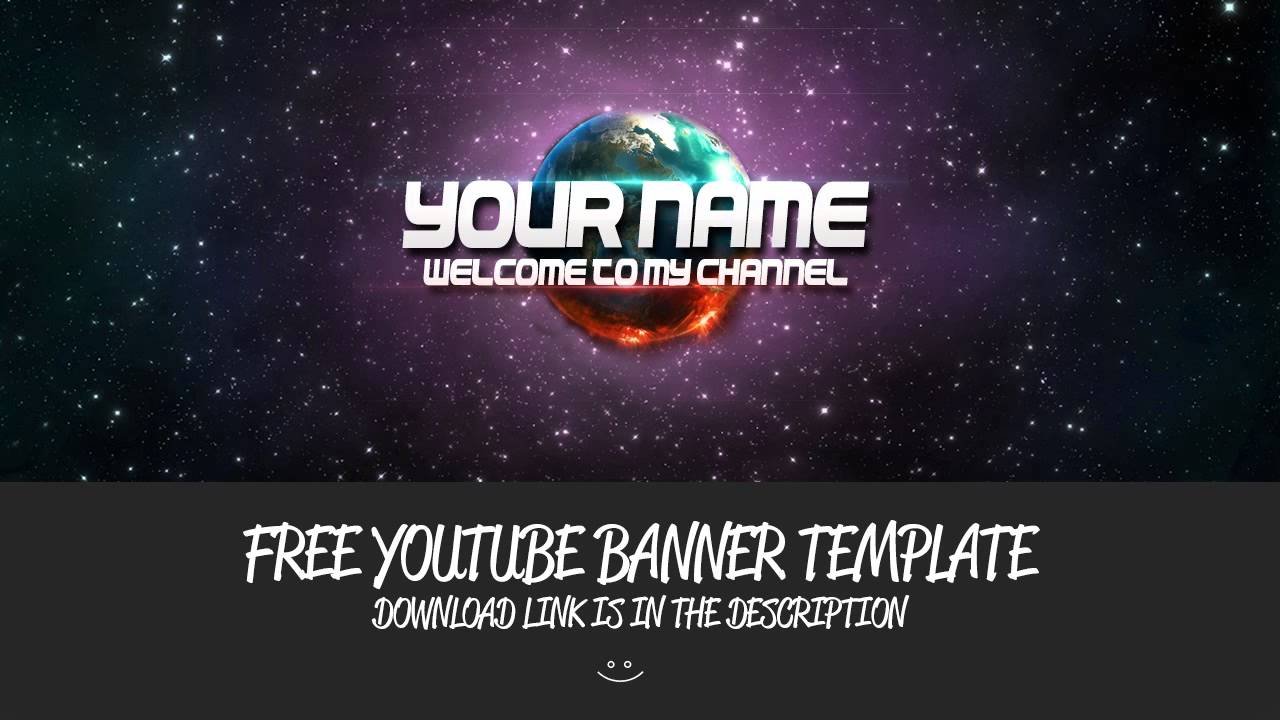 Free Youtube Space Banner Youtube