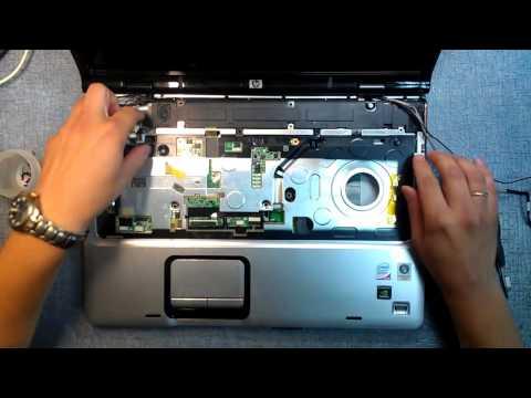 Как разобрать ноутбук HP Pavilion DV6700, DV9700, DV6000, DV9000
