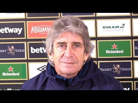 Manuel Pellegrini Full Pre-Match Press Conference - West Ham v Arsenal - Premier League