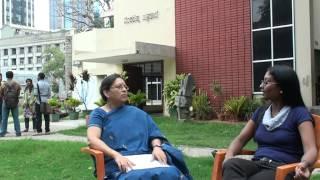 Ananya Drushya artist talk series- august 2012 -Ranjani Shettar