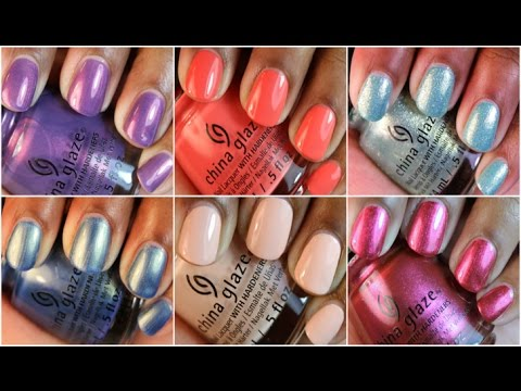 China glaze seas greetings holiday 2016 collection live swatch china glaze seas greetings holiday 2016 collection live swatch review m4hsunfo