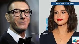El diseñador Stefano Gabbana llama 'fea' a Selena Gómez Video