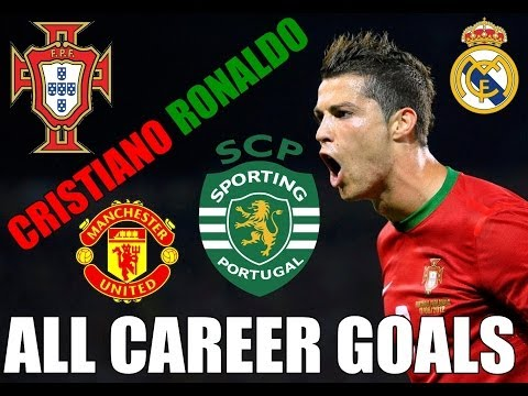 Cristiano Ronaldo - All goals in career (400 goals) - CR400x